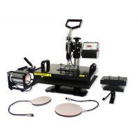 热销HP5IN1 38*38cm 五合一多功能烫画机 数码多功能热转印机