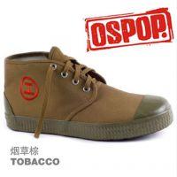 寻找硫化鞋帆布鞋焦作天狼OSPOP高腰改良解放鞋