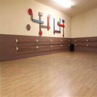 山东菏泽舞蹈房地胶舞台室内枫木纹4.5mmpvc地板胶幼儿园地板革莱森厂家直销
