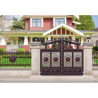[厂家直销]铝合金庭院大门,别墅进户门,别墅庭院门,围墙大门