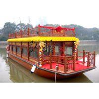 木船画舫船木船厂家、哪里有画舫船卖?弘扬木船厂专业定制木船厂家