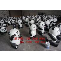 大型动物雕塑 仿真大熊猫展模型 户外活动熊猫摆件 楼盘创意展示