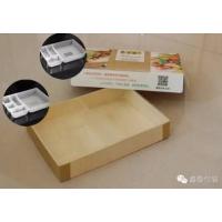 禾之冠 大规格大连一次性木片便当盒外卖盒 快餐打包盒 批发61