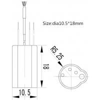 歌溪电子GXI-3M7吹风机LED灯风扇灯负离子发生器