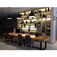 直销loft美式风格办公桌实木会议桌大班桌时尚电脑桌餐桌咖啡桌