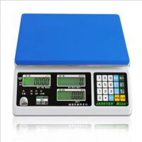 钰恒jts-cw计重秤jts-dw大台面桌面称1.5kg-30kg
