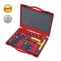 世达工具 汽保工具 20件12.5MM系列VDE绝缘套筒组套 09267