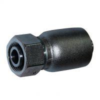 厂家直供工程机械液压管件接头SBA直通24°锥扣压式胶管接头