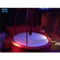 [上海漫炫情趣家具] 酒店宾馆情趣红床-吊杠红床-电动圆床-电动床厂家