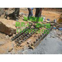 广州铁路局修建地铁隧道专用液压岩石劈裂棒