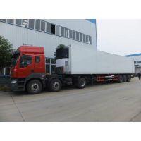 13.6米半挂冷藏车厂家价格东风天龙长途运输冷藏车哪里有卖