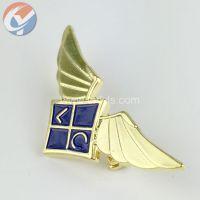 LYHZ009龙勇翼型金属徽章胸章定制