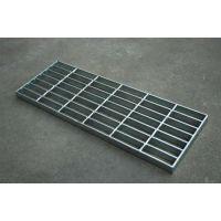 热镀锌钢格板,航金钢格栅板,踏步用热镀锌钢格板