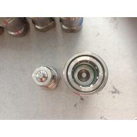订做KZF不锈钢304材质4寸开闭式液压快速接头 DN100内螺纹自闭式液压接头南鑫现货销售