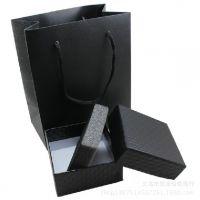 厂家直销黑色高档盒子手提纸袋 礼品袋 包装袋 手提袋批发