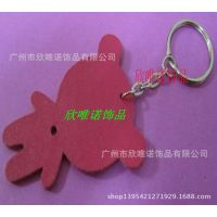 情侣钥匙扣 创意真皮小熊钥匙挂件钥匙链