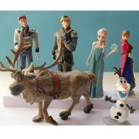 冰雪奇缘大冒险 冰雪皇后6款公仔 夜光摆件Frozen冰雪女王模型