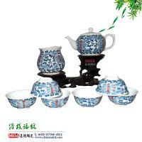 高档茶具套装礼品 手绘陶瓷茶具 景德镇茶具批发