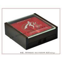 透明亚克力盖银币盒 银币礼品盒 木制银币包装盒 银币木盒订做