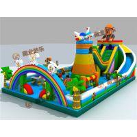 气垫游乐生意好做吗?儿童玩的大气包价格,玩具气堡一般适合在什么样的地方经营