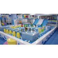 拉奇游乐供应2016新型淘气堡 室内儿童闯关 儿童淘气堡游乐园厂家设计pvc