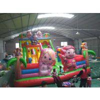 昌黎县武安市充气城堡 新款猪猪侠儿童充气城堡多少钱一个