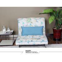 供应八达八强简约现代时尚懒人沙发单人小户型地中海风格多功能沙发床客厅卧室多用布艺可拆洗