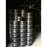 供应DN80铸钢法兰式耐高温耐腐蚀橡胶接头/水泵专用三元乙丙橡胶接头/