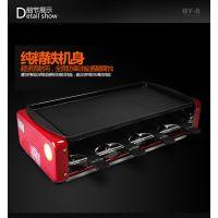 志仕大号电烧烤炉韩式 电烤炉无烟烤肉机烧烤机家用电烤盘架