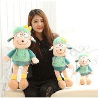 正品可爱公主羊毛绒玩具小羊肖恩公仔送孩子朋友儿童节生日礼物