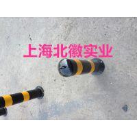 上海北徽厂家供应黄黑警示柱铸铁反光隔离柱