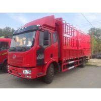 一汽解放J6L卡车6.8米货车箱车高栏国五160马力 4×2 13716325930