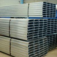 厂家加工各种规格C型钢 镀锌C型钢