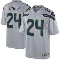 Marshawn Lynch Seattle Seahawks NFL Youth Nike Jersey Gray
