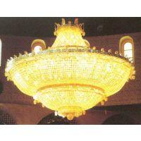 中元之光定制酒店别墅水晶吊灯 led水晶吸顶灯 餐厅包房灯销售