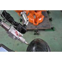 激光切割汽车塑料顶棚 三维非金属激光切割机器人 东莞力生浴缸切边机器人