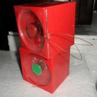 我公司《骊创品牌》LA10-1SBRE11M单孔事故按钮带不锈钢底板现货包邮
