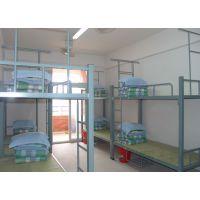 天津办公家具 艺钢制高低床 上下床 双层床 员工宿舍床 学生床 公寓床