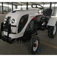 24马力小型四轮拖拉机 配套旋耕机 多种农具可配 超低矮果园大棚专用 高度一米的小四轮拖拉机