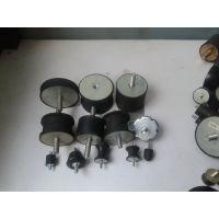 专业风机橡胶减震垫厂 铁件电镀镍天然胶 100H55
