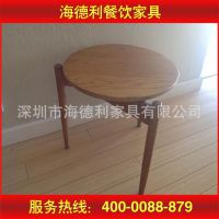 新品热卖 家用餐桌 酒店宴会餐桌 实木家具