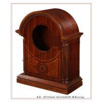 红木时钟盒 红木钟表盒 摆钟钟表包装盒 机械钟表木盒包装订做