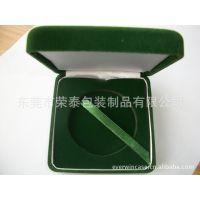 【厂价供应】塑胶植绒珠宝盒 塑胶植绒纪念币盒 奖章盒