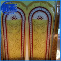 长期供应 彩晶镶嵌艺术写真玻璃 北京钢化艺术玻璃批发
