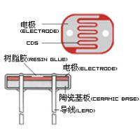 海王供应无铅环保型CDS光敏电阻光控开关原件直径3mm系列