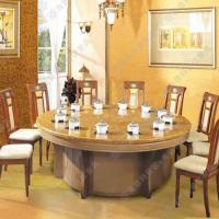 冬季特卖 地中海风格火锅餐桌椅 大型电磁炉标准12人位火锅桌组合定做