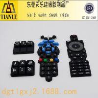 天乐硅橡胶制品厂 硅胶按键 防水耐用硅胶按键