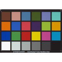 24色块GretagMacbethTM ColorChecker色彩还原测试卡标版