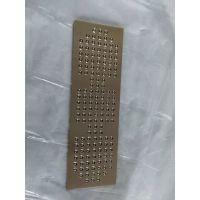 精密钢珠镶嵌铜导板铜基滚珠保持滑块