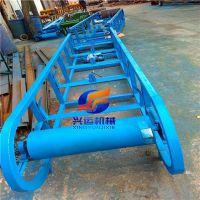 江苏省400宽槽钢传送机,国标槽钢移动式皮带机 爬坡皮带输送机